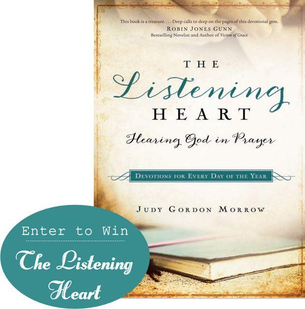 The Listening Heart Devotional giveaway!