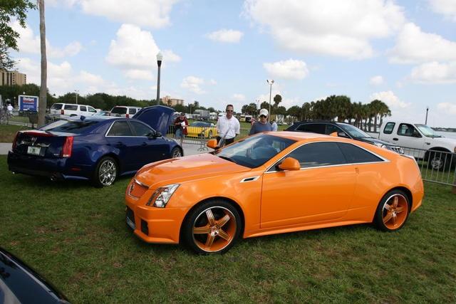 Orange Ice Cts V At A Florida Car Show Cool Cars Pinterest