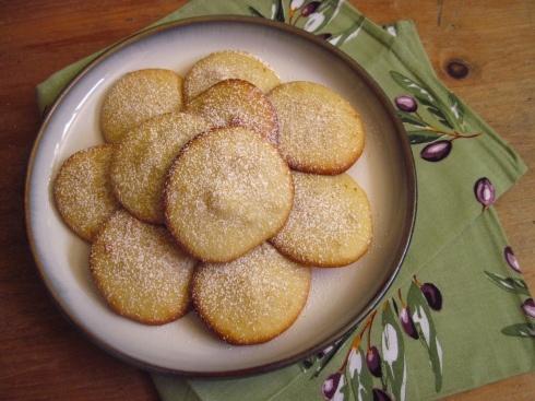 Lemon & Olive Oil Sugar Cookies | Food | Pinterest