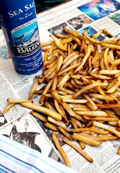 Belgian fries.