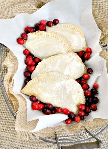 Cranberry Hand pies | It's All About The Pie | Pinterest