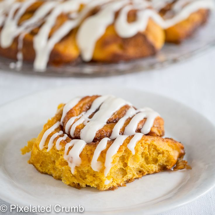 Pumpkin Cinnamon Rolls 7 pumpkin cinnamon rolls