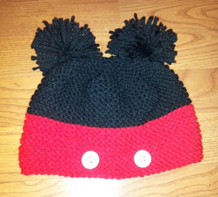 Mickey Mouse Knitted Hat Pattern : Mickey Mouse Knitted Hat Joy Studio Design Gallery - Best Design