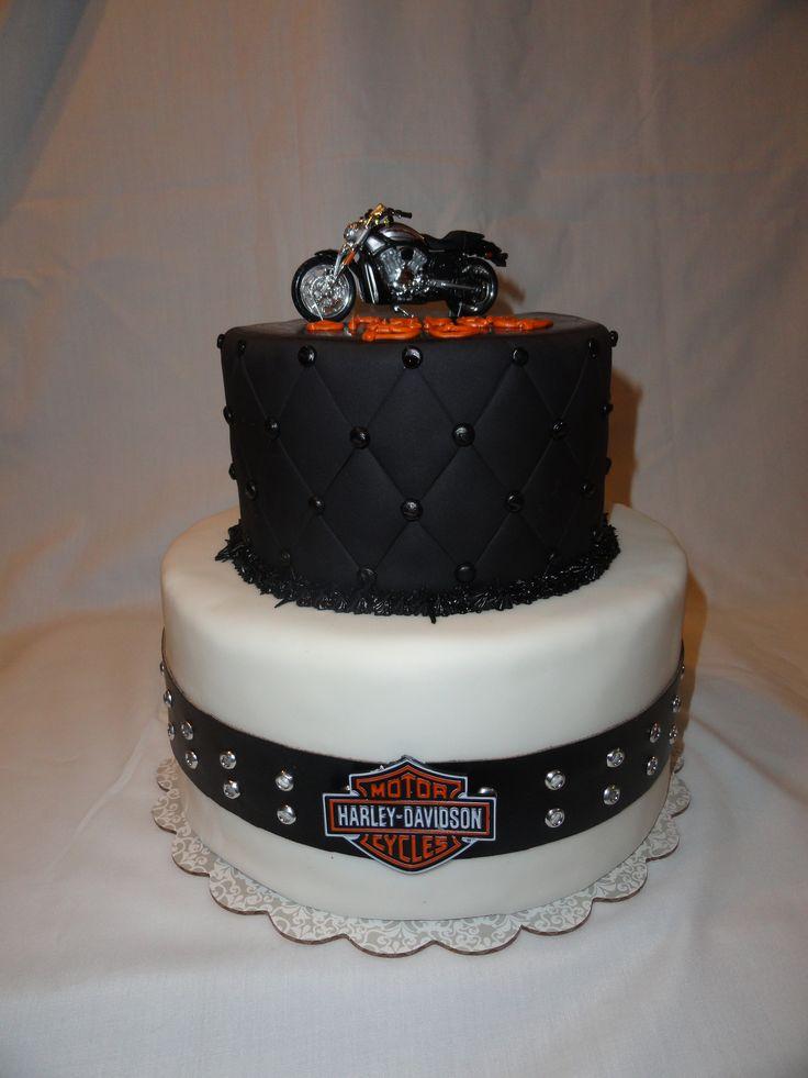 harley davidson cake harley davidson party pinterest