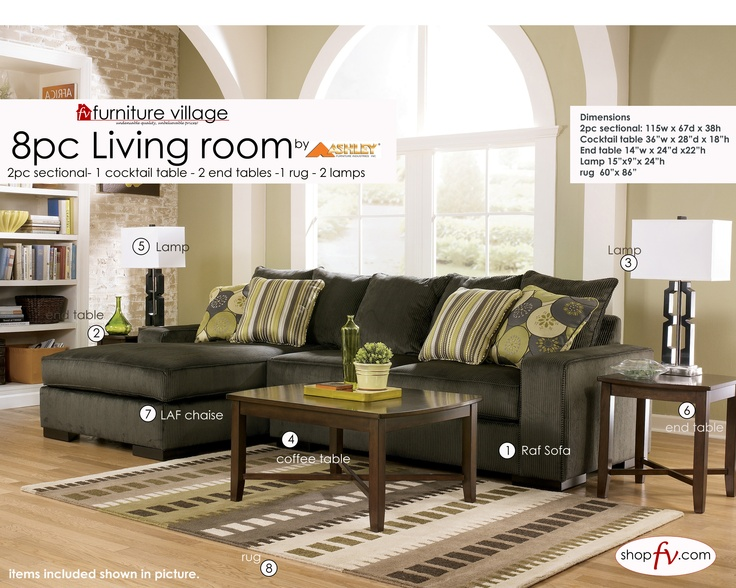 Room like this here is one of six living room sets you could win