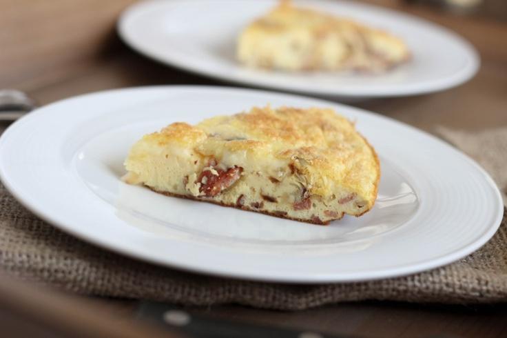 Cheddar, Bacon and Potato Frittata (Gluten Free) | Make it Naked