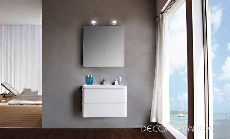 Muebles Para Baño Klipen: LAVAM COLGTE CURVE 80 DE KLIPEN