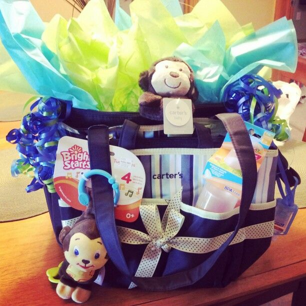 baby shower gift diaper bag full of diapers wipes safety first kit