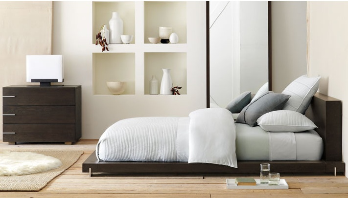 Floor bed so asian so love homelicious pinterest for Floor bed ideas