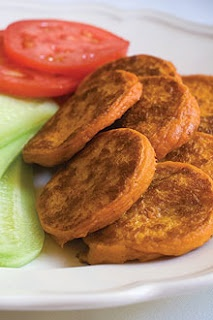 sweet potato pancakes - orna and ella - tel aviv, israel