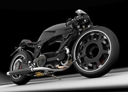 TurboDiesel Motorcycle Concept