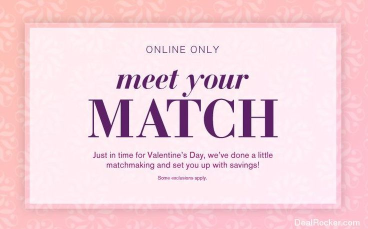 events meet your match foundation event