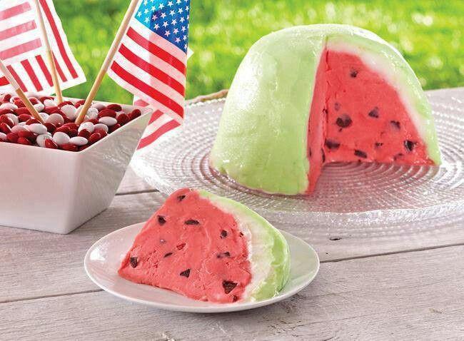 Watermelon Bomb   Desserts   Pinterest