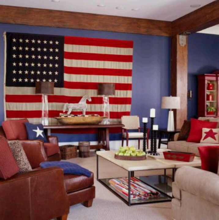 Americana style Home decorating ideas Pinterest