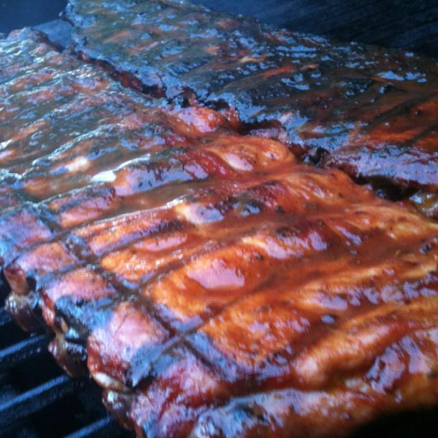 wonderful recipe of Memphis style BBQ pork ribs.