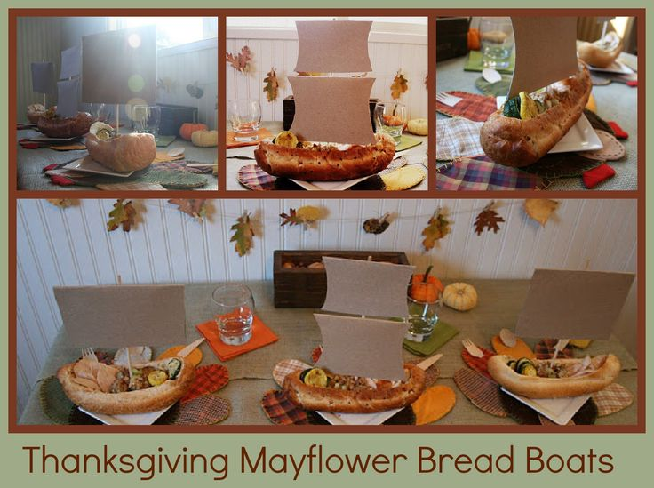 Mayflower thanksgiving bread boats living the sweet life