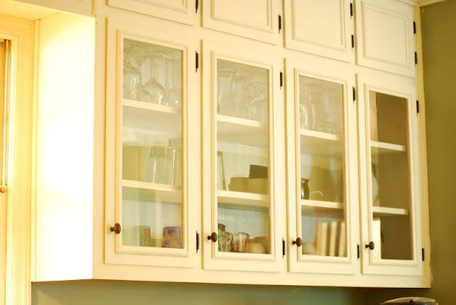 diy glass cabinet door  DIY glass inserts for cabinets from Between