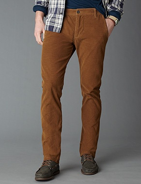 great color (Mule Deer) on these Dockers Alpha cords for men