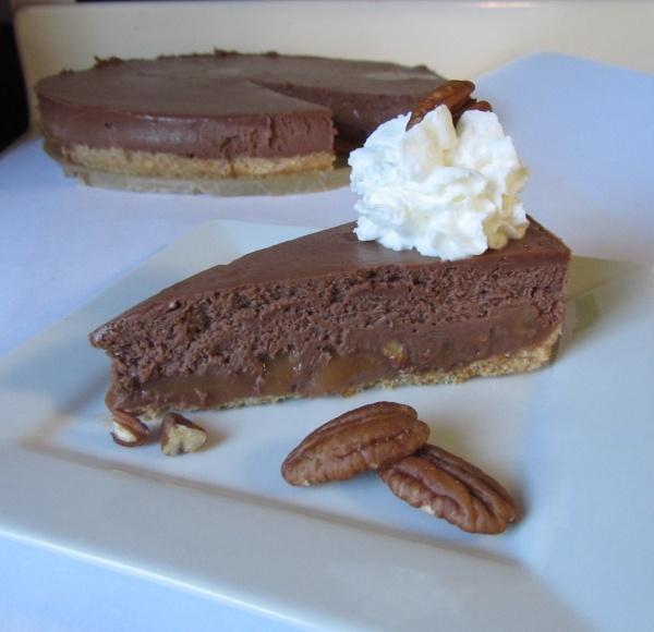 Dark Chocolate Turtle Cheesecake | Chocoholicღ Cheesecake ...