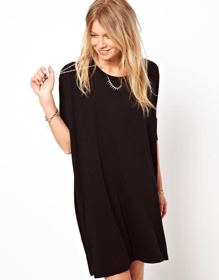 asos the t shirt dress. Black Bedroom Furniture Sets. Home Design Ideas