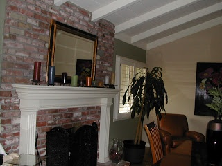 Updating Red Brick Fireplace Home Sweet Home Pinterest