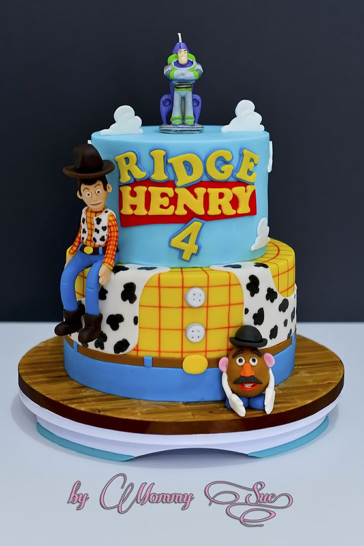 Toy Story Cakes For Boys : Toy story cake birthday for boys pinterest