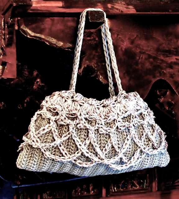 Boutique Handbag, originally designed for the Crochet Guild of America ...