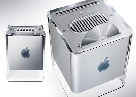 Coolest computer ever! The Power Mac G4 Cube.