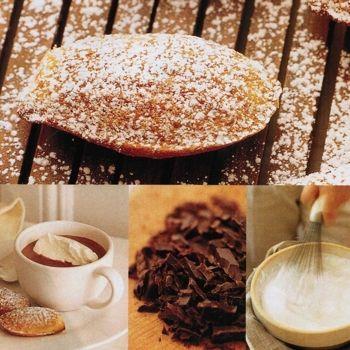 ... Berger chocolate. Serve with warm orange-blossom honey madeleines