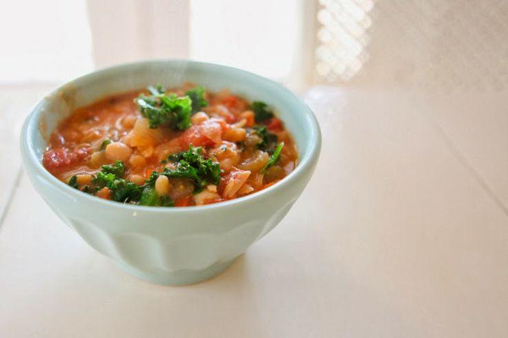 Tuscan white bean soup | Chefs Mr. & Mrs. | Pinterest