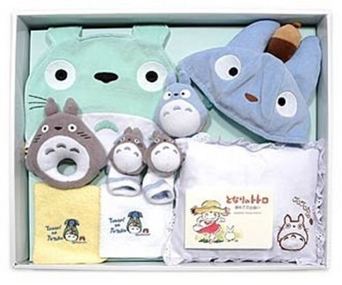 Baby Gifts From Japan : Baby gift set of my neighbor totoro studio ghibli anime