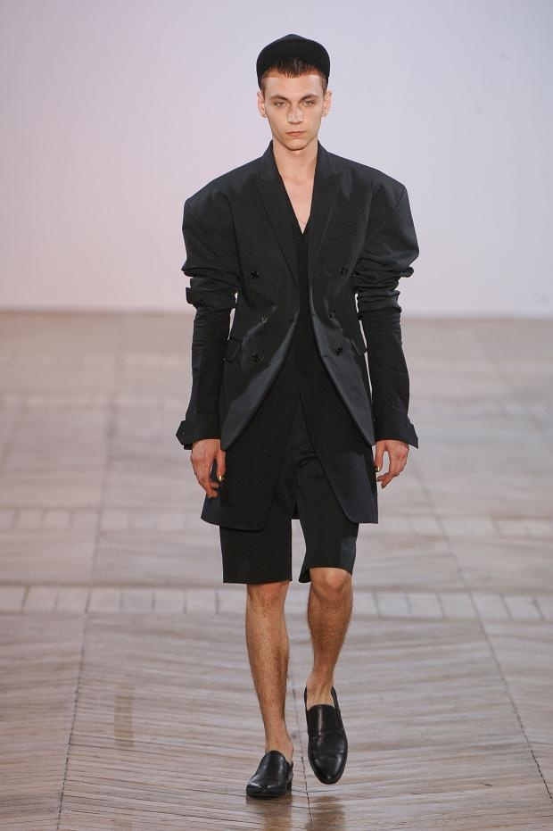 Juun.J plays up proportions for SS13