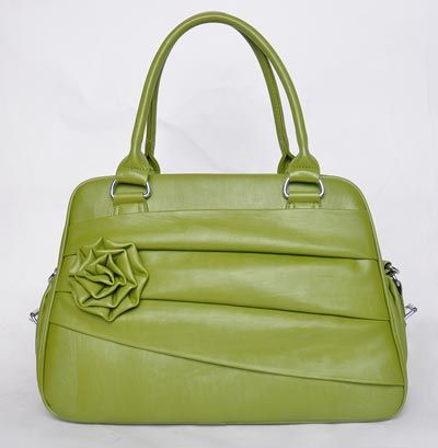Jo Totes Rose Bag in Moss