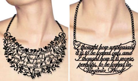 quote necklaces