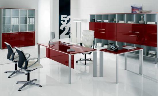 Moderne Büroeinrichtung Zuhause ~ Moderne Büroeinrichtung  gestalten Sie Ihr Büro stilvoll und zeigen