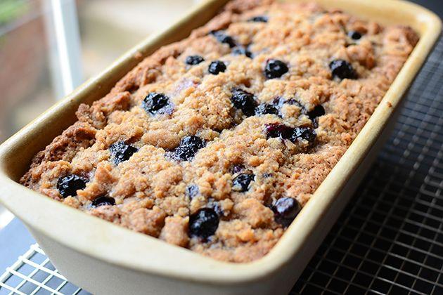 Crumb-Topped Blueberry Zucchini Bread | Recipe