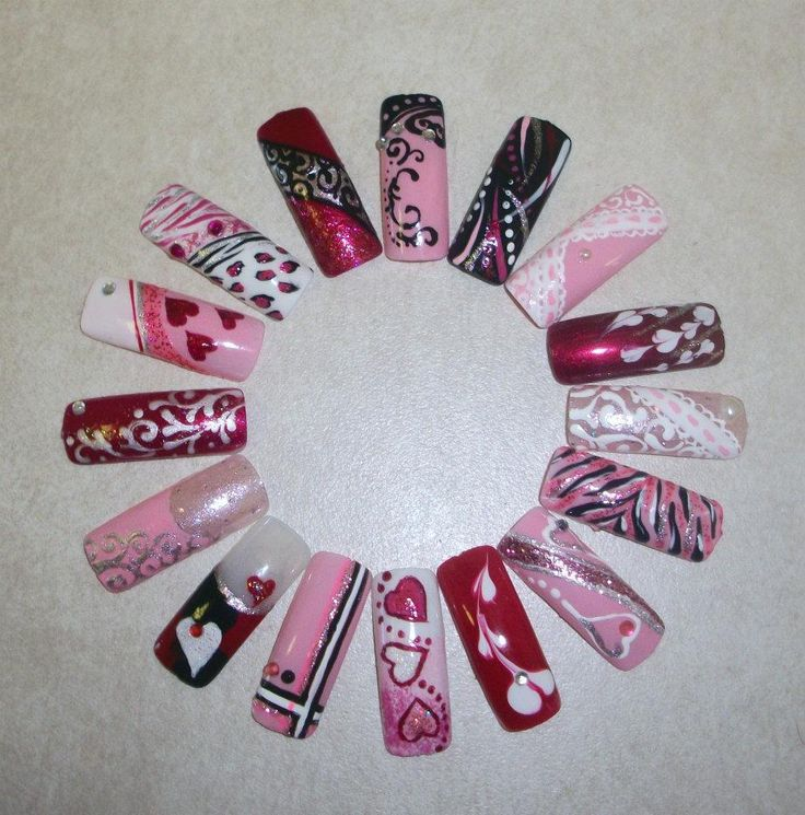 My nail art wheel | nails | Pinterest