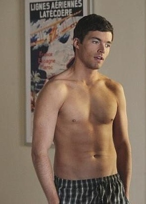 Ian Harding shirtless, 'cause its a crime to have a Pinterest without him on it. ;)