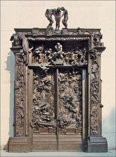 Portes de l 39 enfer mus e rodin portes du monde pinterest for 7 portes de l enfer