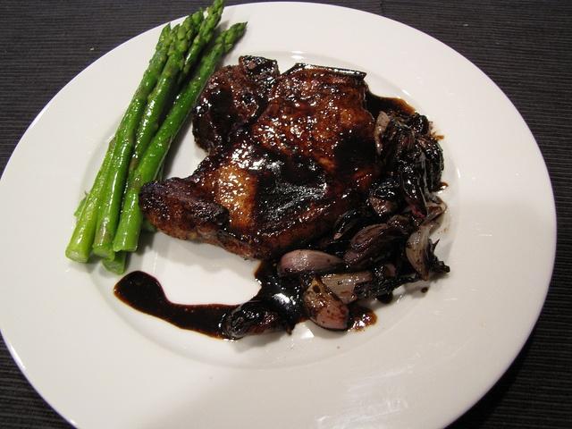 Balsamic Glazed Pork Chops | Feed Me Dinner | Pinterest