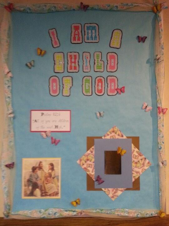 Missionary Bulletin Board Ideas
