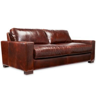 Signature Leather 84 Sofa JCPenney Furniture Pinterest