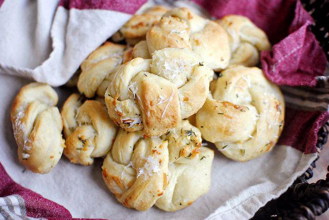 Garlic & Herb Bread Sticks or Knots | BREAD & such | Pinterest