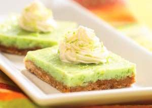 lime bars...St. Patrick's Day treat