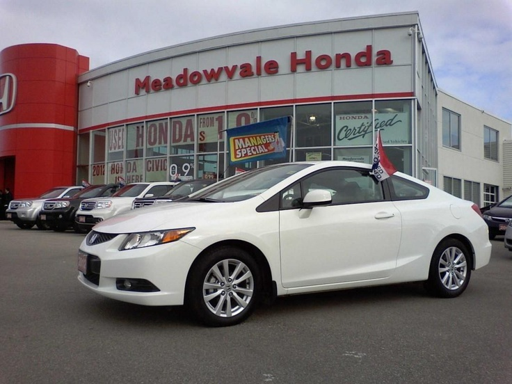 2012 Honda Civic (White) | Used Cars for Sale (March 2013) | Pinterest
