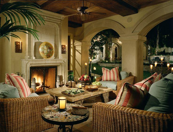 Interior Design Spanish Style Villa Home Pinterest