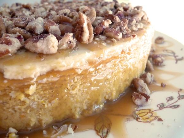 Pumpkin Caramel Pecan Cheesecake   Desserts   Pinterest