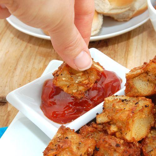 Crispy Potato Tots (Tater Tots)