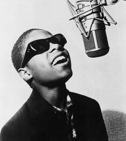 """Little"" Stevie Wonder, age 13 (1963) 