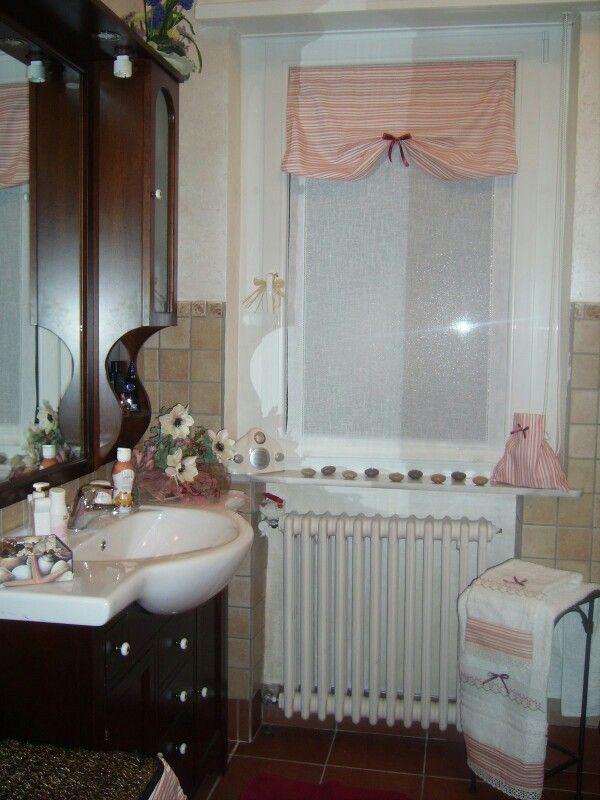 Tende bagno cucito x la casa pinterest - Idee tende bagno ...